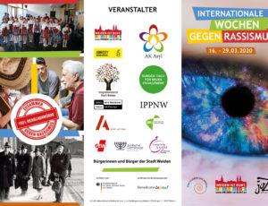 Wochen gegen Rassismus 15.-29.03.2020